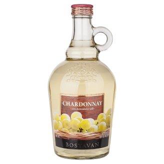 Bostavan Chardonnay biele polosladké víno 1000 ml