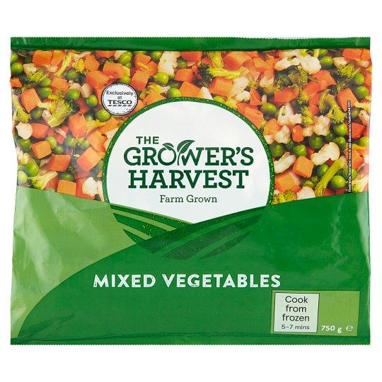 The Grower's Harvest Zmes mrkvy, hrášku, brokolice a karfiolu 750 g