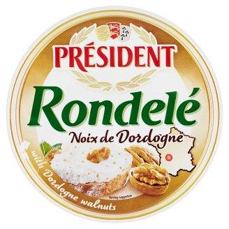 Président Rondelé Noix de Dordogne Cheese with Walnuts 100 g