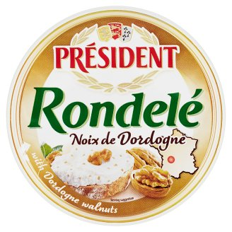 Président Rondelé noix de Dordogne syr s vlašskými orechmi 100 g