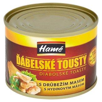 Hamé Diabolské toasty zmes na hrianky s hydinovým mäsom 180 g