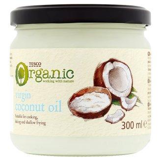 Tesco Organic Bio rastlinný olej kokosový 300 ml