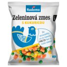 Radoma Preto Vegetable Mixture with Corn Deep-Frozen 350 g
