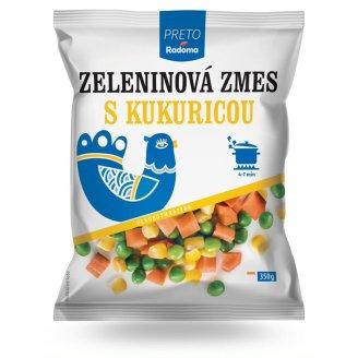 Radoma Preto Vegetable Mixture with Corn Deep-Frozen 350 g