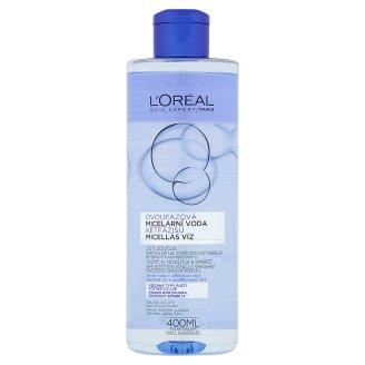 L'Oréal Paris Skin Expert Dvojfázová micelárna voda pre citlivú pleť 400 ml