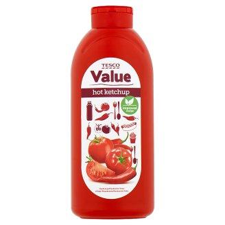 Tesco Value Hot Ketchup 1 kg