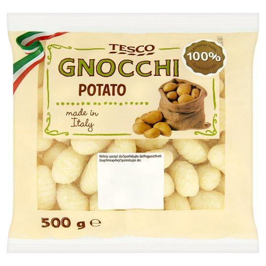 Tesco Gnochi halušky zo zemiakov a pšeničnej múky 500 g