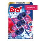 Bref Blue Aktiv Fresh Flowers tuhý WC blok 3 x 50 g