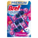 Bref Color Aktiv Fresh Flowers Solid Toilet Block 3 x 50 g