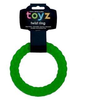 Petface Toyz Skrútený krúžok zelený