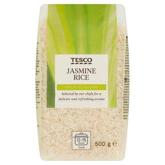 Tesco Jasmine Long-Grain Rice Peeled 500 g