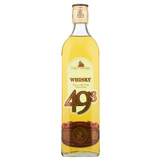 Forty Niners Whisky 40 % 700 ml