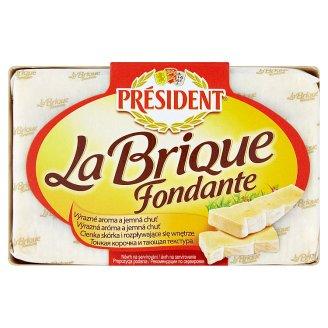 Président La Brique mäkký zrejúci polotučný syr s bielou plesňou na povrchu 200 g