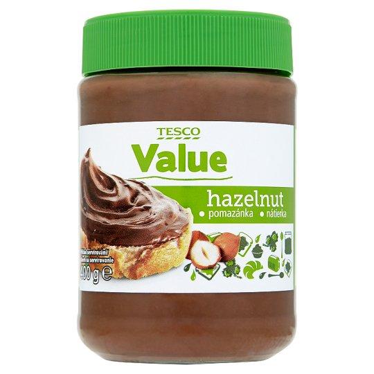 Tesco Value Kakaovo-oriešková nátierka 400 g