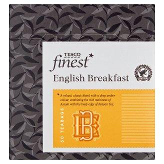 Tesco Finest Čierny čaj porciovaný 50 vrecúšok 125 g