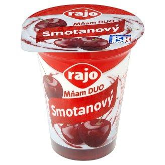 Rajo Mňam Duo Smotanový jogurt višňový s kúskami višne 145 g