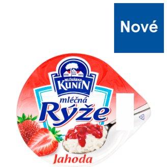 Mlékárna Kunín Mliečna ryža jahodová 150 g