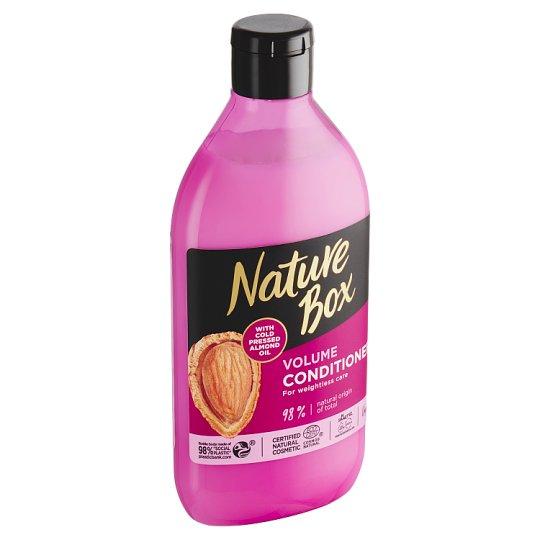 Nature Box kondicionér Almond Oil 385 ml
