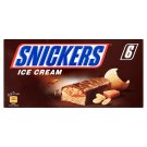 Snickers Frozen Milk Cream with Peanuts, Caramel and Cocoa Topping 6 x 53 ml