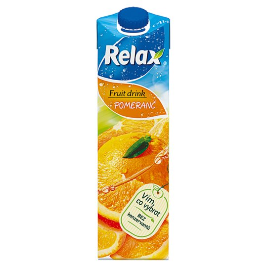Relax Fruit Drink pomaranč 1 l