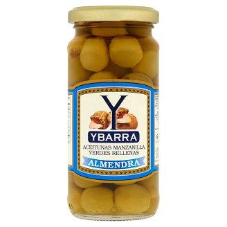 Ybarra Almendra olivy plnené mandľami 240 g