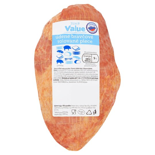 Tesco Value Smoked Pork Rolled Shoulder