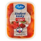 Ryba More Zdravia Herring Fillets in Ketchup Sauces 170 g