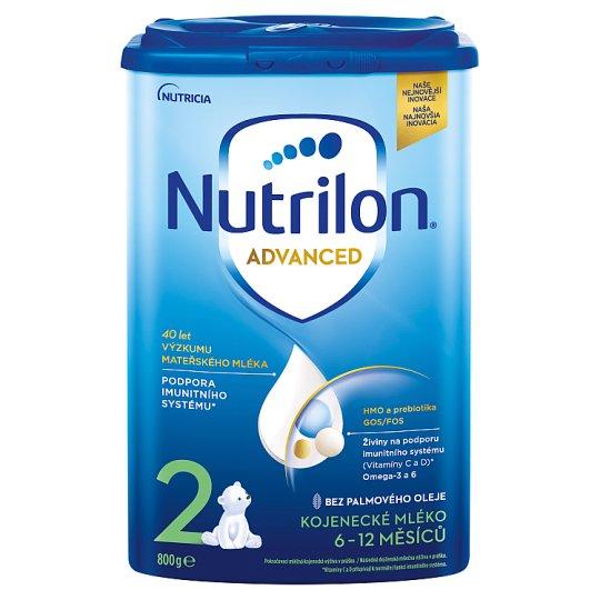 Nutrilon 2 následné dojčenské mlieko 6-12 m 800 g