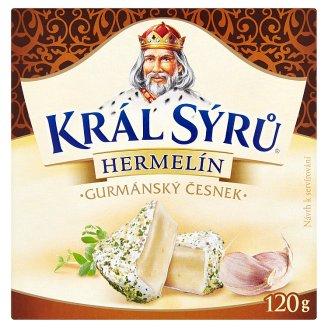 Král Sýrů Hermelín s cesnakovým korením 120 g