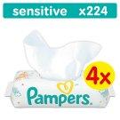 Pampers Sensitive Baby Wipes 4 Packs 224 wipes