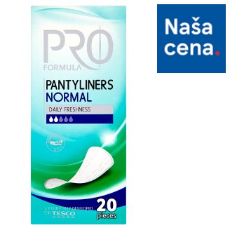 Tesco Pro Formula Normal slipové vložky 20 ks