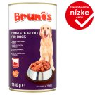 Brunos Complete Food for Dogs with Beef 1240 g