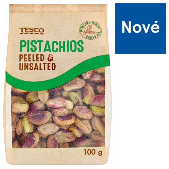 Tesco Pistachios Peeled & Unsalted 100 g