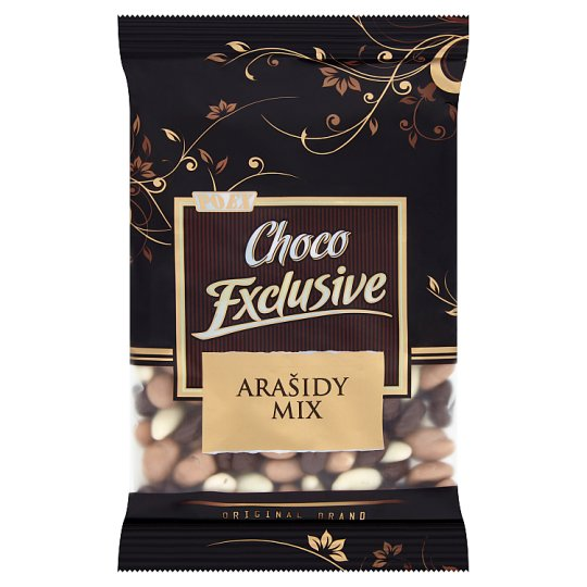 Poex Choco Exclusive Arašidy mix 250 g