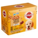 Pedigree Junior Chicken and Turkey Complete Food for Growing Dogs and Puppies 12 x 100 g