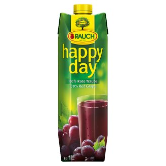 Rauch Happy Day 100% Juice from Red Grapes 1 L