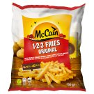 McCain 1•2•3 Original Potato Fries 750 g