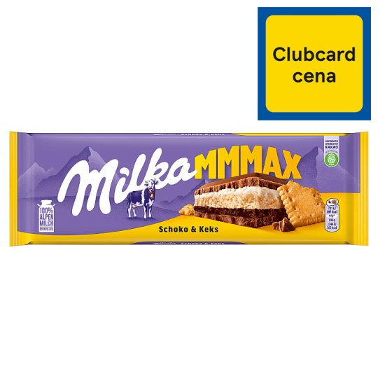 Milka Mmmax Choco & Biscuit 300 g