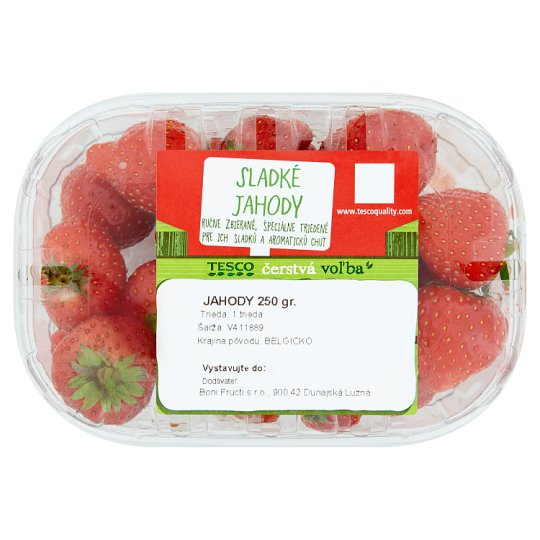 Tesco Strawberries 250 g