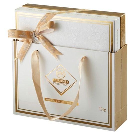 Elit Gourmet Collection Výber praliniek s mliečnou čokoládou 170 g