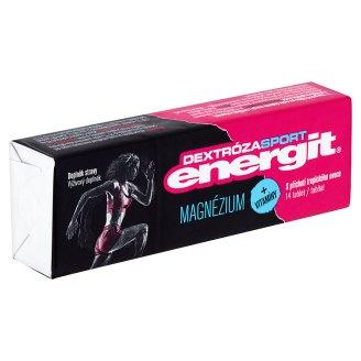 Energit Dextróza Sport Výživový doplnok magnézium + vitamíny 14 tabliet 49 g