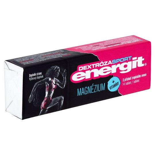 Energit Dextróza Sport Dietary Supplement Magnesium + Vitamins 14 Tablets 49 g
