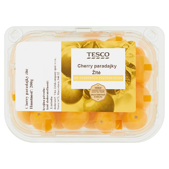 Tesco Cherry Tomatoes Yellow 200 g