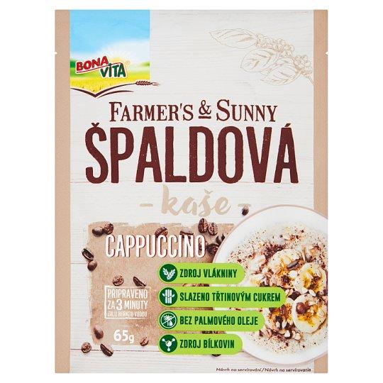 Bona Vita Farmer's & Sunny Spelled Cappuccino Porridge 65 g