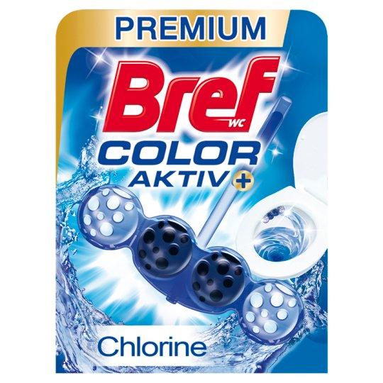 Bref Blue Aktiv Chlorine tuhý WC blok 50 g