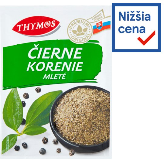 Thymos Ground Black Pepper 20 g