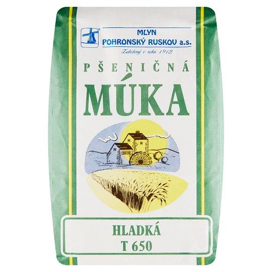 Mlyn Pohronský Ruskov Wheat Flour T 650 1 kg
