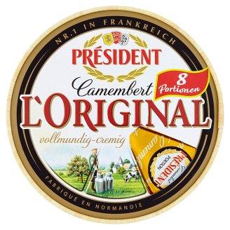 Président L'Original Camembert 8 x 31.25 g
