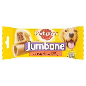 Pedigree Jumbone Medium s hovädzím 2 ks 200 g