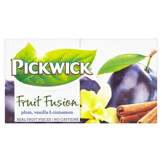 Pickwick Fruit Fusion Plum, Vanilla & Cinnamon 20 x 2 g